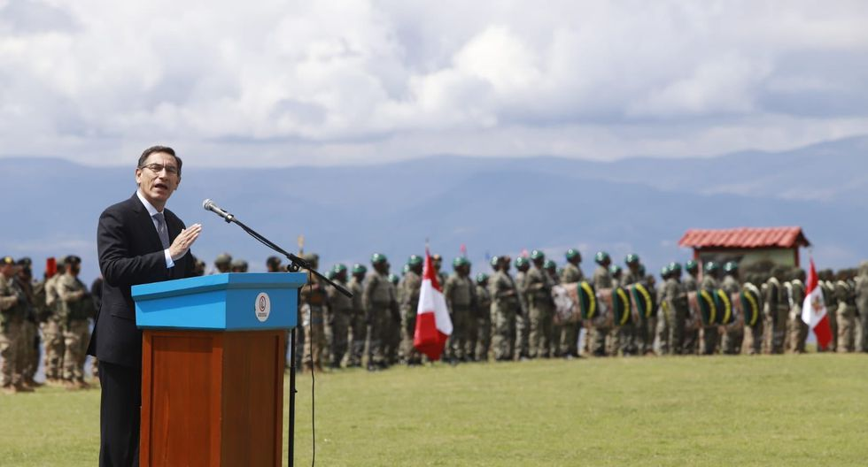 El mandatario Martín Vizcarra señaló que no se puede permitir ningún retroceso en lo avanzado. (Foto: Presidencia)
