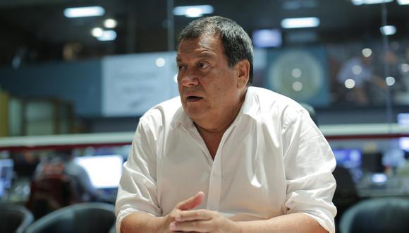 """Ex ministro de Defensa asegura que las especulaciones sobre que integrará el gabinete ministerial de Pedro Castillo son """"chismes"""".(Foto: GEC)"""