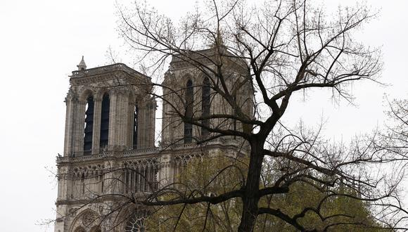 Foto 1 | La catedral de Notre Dame, ubicada en la Île de la Cité, en el corazón de París, sufrió un atroz incendio que devoró gran parte del edificio. (Foto: EFE)