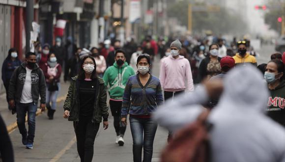 """Maguiña pidió que se apliquen medidas """"creativas"""" dentro de las zonas de alto contagio de los distritos. (Foto: GEC)"""