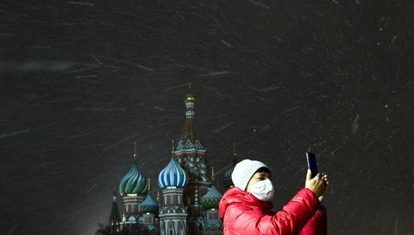 A mediados de enero se aprobó una nueva ley que impone multas administrativas de US$ 10,500 a más de US$ 50,000 a aquellos soportes que no limiten el acceso a información prohibida. (Photo by Kirill KUDRYAVTSEV / AFP)