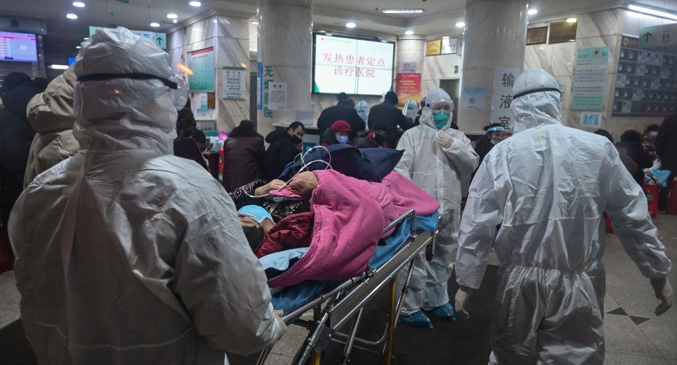 """Los hospitales de Wuhan están """"saturados"""", admite la comisión municipal de salud al Diario del Pueblo, órgano del Partido Comunista en el poder. (Foto: EFE)"""