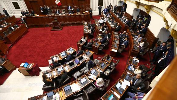 El pleno del Congreso aprobó con 70 votos a favor el proyecto de ley para ampliar el plazo de elección de miembros de la JNJ. (Foto: GEC)