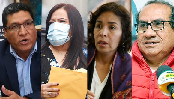 La Fiscalía tiene en la mira a Mirian Morales, Oscar Vásquez, Jorge Apoloni y Patricia Balbuena por el caso Richard Swing. (Composición: GEC)