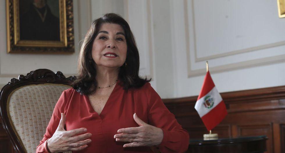 Martha Chávez manifestó que no se puede confundir falta de transparencia con corrupción.  (Foto: Rolly Reyna/ El Comercio)