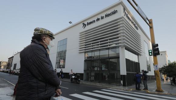 Banco de la Nación competirá con la banca privada. (Foto: GEC)