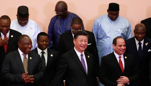 Xi anunció este nueve paquete de ayuda financiera durante el discurso de apertura del Foro de Cooperación África-China. (Foto: AFP)