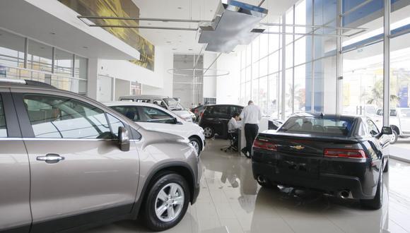 Venta de autos. (Foto: GEC)