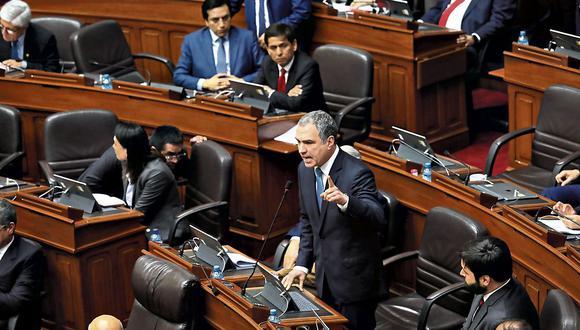 El 30 de setiembre, el expremier Salvador del Solar planteó una cuestión de confianza ante un Pleno que impidió su ingreso. (Anthony Niño de Guzmán/GEC).