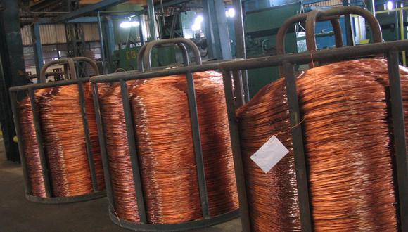Las exportaciones de cobre de Chile sumaron US$ 2,628 millones en el sexto mes. (Foto: GEC)