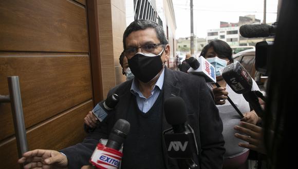 Hernando Cevallos indicó que quien debe responder si ya se vacunó o no es el mismo Pedro Castillo. (Foto: Archivo GEC)