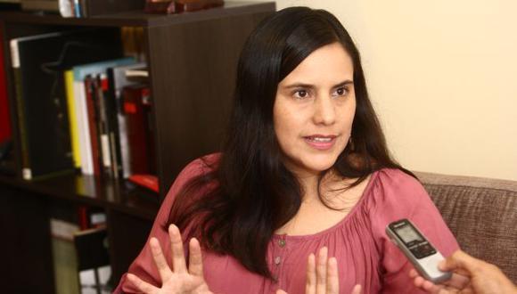 Verónika Mendoza buscará su segunda postulación consecutiva a la Presidencia de la República. (Foto: GEC)