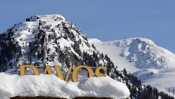 Davos. (Foto: Bloomberg).