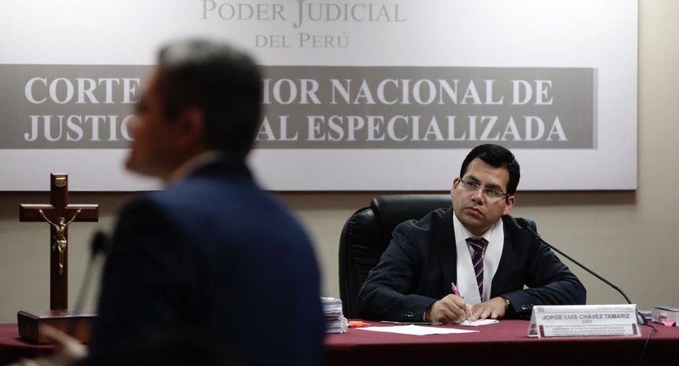 El fiscal José Domingo Pérez sustentó alegatos para justificar pedido de prisión preventiva contra Gerardo Sepúlveda. (Foto:  Ángela Ponce /GEC )