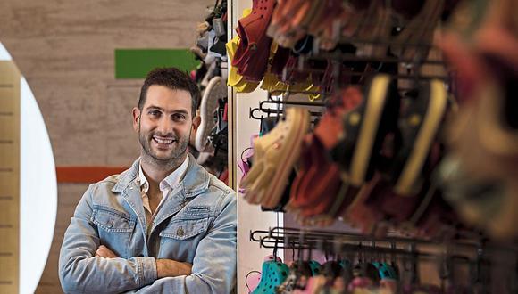 Javier Longinotto, gerente general de Gretel -que representa a Crocs, Camper, Toms, y otras marcas- (Foto: Ángela Ponce | GEC)