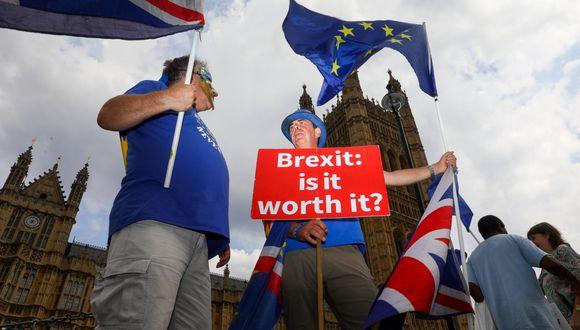 Brexit. (Foto: Bloomberg).