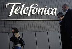 Acción de Telefónica escala 34% por reorganización de la firma