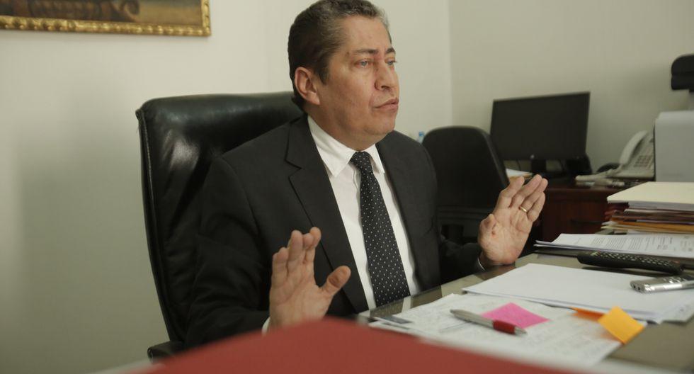 Espinosa-Saldaña indicó que los magistrados del TC siempre son objeto de presiones cuando tienen que definir un fallo. (Foto: GEC)