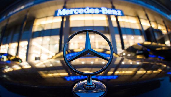 Constructor alemán de autos de lujo Mercedes-Benz. (Foto de JOHANNES EISELE / AFP).