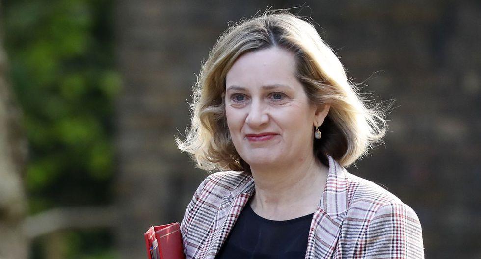 Elegida diputada en 2010 tras una carrera en las finanzas y el periodismo económico,Amber Rudd,acompañó a May en su ascenso al poder, un apoyo que le dio frutos. (Foto: AFP)
