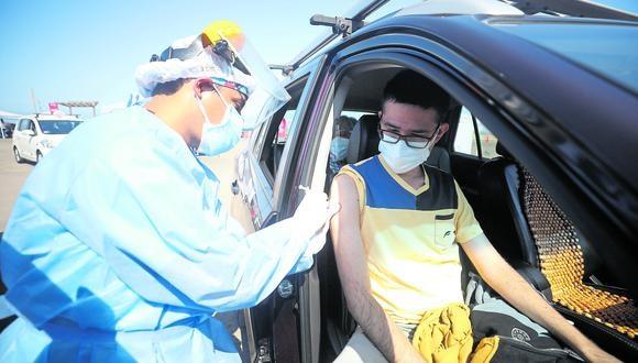Avanza la vacunación contra el COVID-19 en el país. (Britanie Arroyo/ GEC)