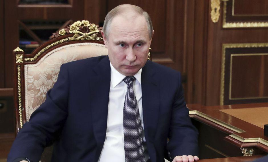 Foto 5 | El presidente ruso, Vladimir Putin, reafirmó la opinión de Rusia de que un presunto ataque químico en la ciudad siria de Douma que provocó la huelga fue falso. (Foto: AP)