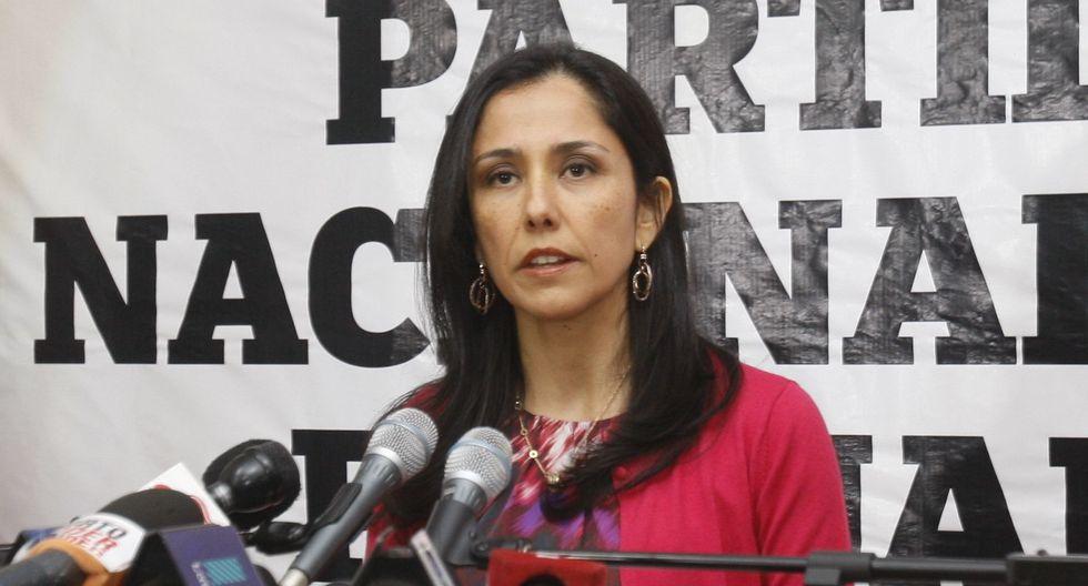 Nadine Heredia es investigada también por el caso Gasoducto del Sur. (Foto: GEC)