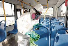 Supervisión de limpieza y desinfección de unidades de transporte  en manos de un tercero y ya no de ATU