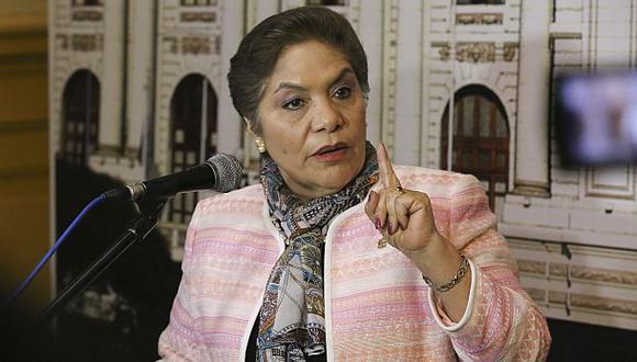 Luz Salgado fue presidenta del Congreso y parte del Poder Legislativo hasta el 30 de setiembre del 2019. (Foto: Congreso)