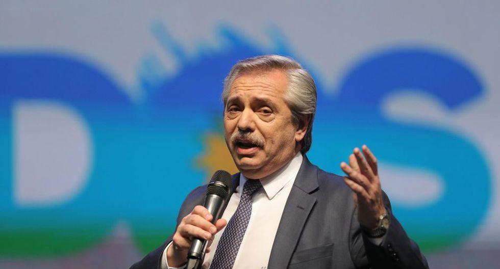 Alberto Fernández presidente electo de Argentina. (Foto: EFE)