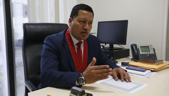 El coordinador de las Fiscalías Anticorrupción, Omar Tello.