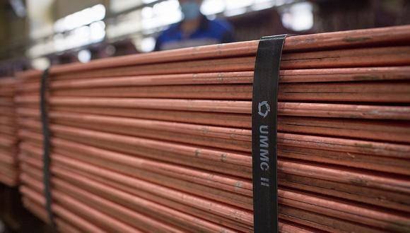 """El uso de cobre en la producción de """"energía limpias"""" sería un determinante de su precio hacia fines del 2021. (Foto: AFP)"""