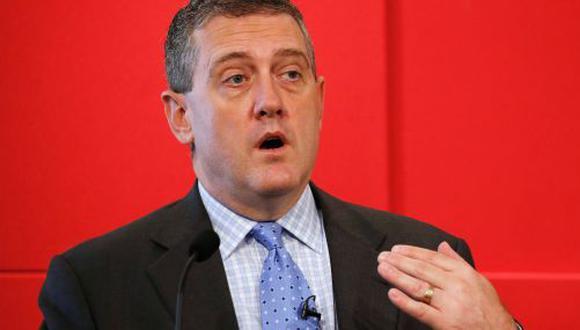 Bullard dijo que era una pregunta abierta si el banco central reducirá las tasas a fines de este mes. (Foto: Reuters)