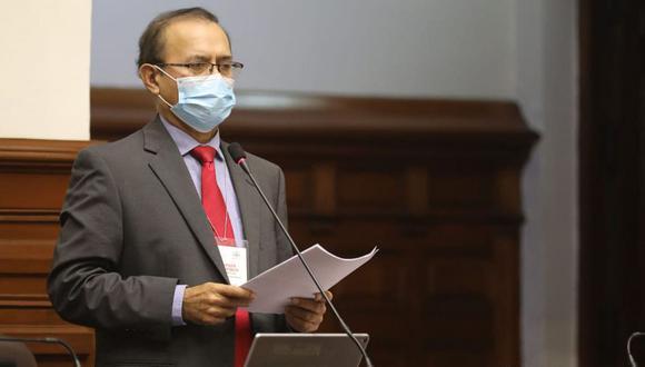 Otto Guibovich es el presidente de la comisión del Congreso que investiga el caso 'Vacunagate' (Foto: Congreso)