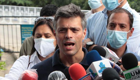 Leopoldo López, líder opositor venezolano, tenía previsto participar en un evento en Lima. (Foto: EFE)
