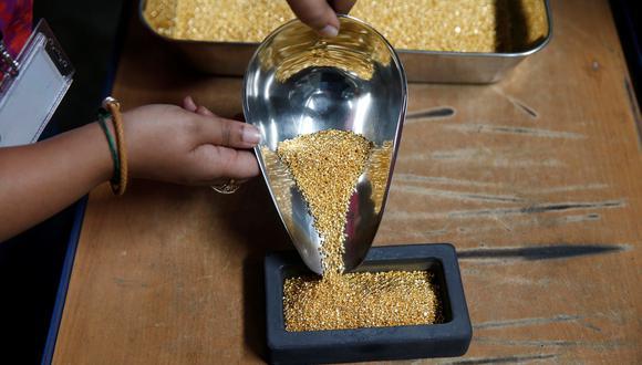 Los futuros del oro estadounidense subían 0.1% a US$ 1,555.6 por onza. (Foto: Reuters)