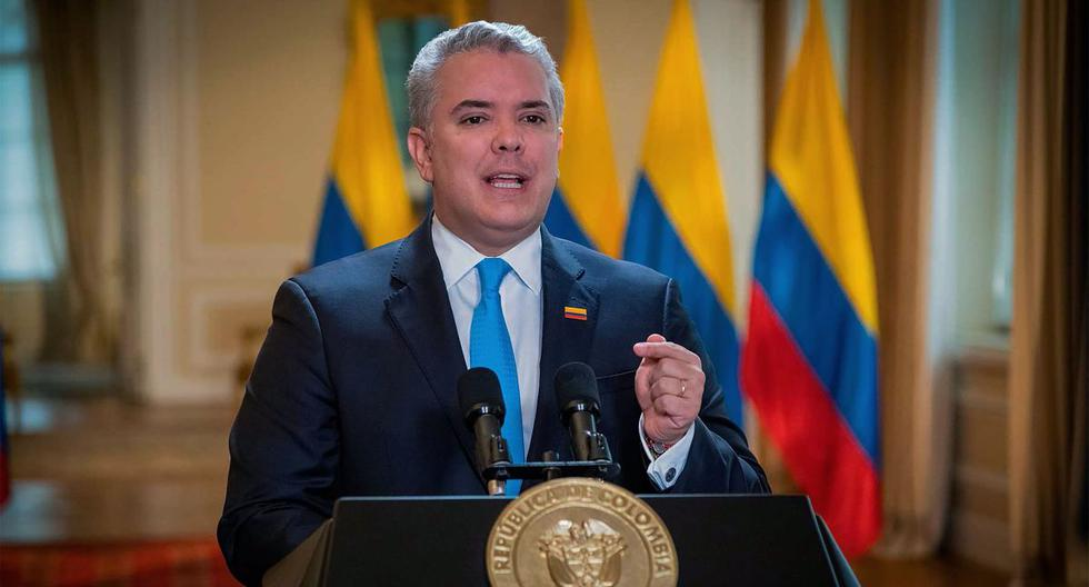 Fotografía del presidente colombiano Iván Duque. (EFE/Presidencia de Colombia).