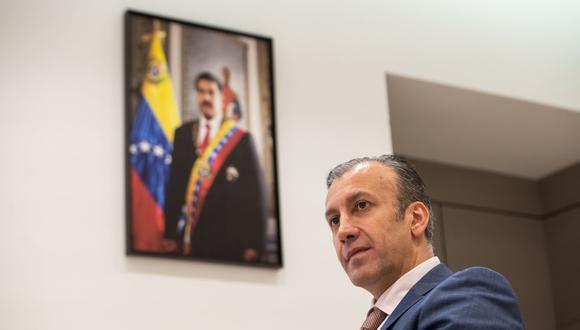 Tareck El Aissami, ministro de Petróleo de Venezuela. (Bloomberg)