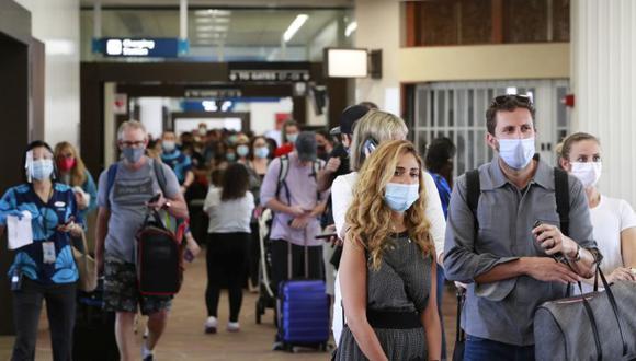 La prioridad, ha explicado la ministra española de Turismo, es el reinicio de los viajes internacionales, para lo cual es preciso seguir la guía que marca la declaración firmada en esta cumbre. (AP Photo/Marco Garcia)