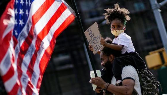 Un presidente normal reconocería el horror de la muerte de Floyd y todo lo que representa. REUTERS/Eduardo Munoz