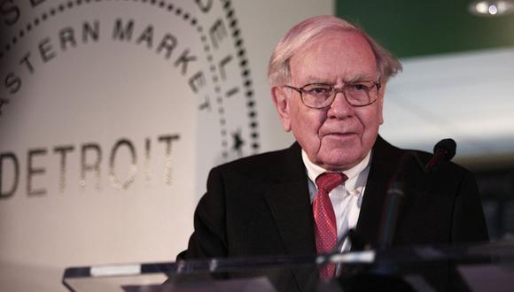 Warren Buffet, CEO de Berkshire Hathaway. (Foto: Difusión)