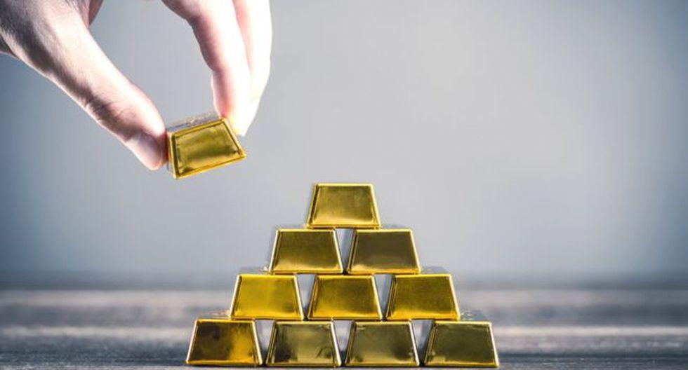 El oro durante estos últimos cuatro años ha generado una rentabilidad de 67% un rendimiento que quintuplica el promedio de los retornos de activos calificados como bajo riesgo o refugio, siendo la mejor inversión para los inversionistas conservadores en los últimos años. Créditos: Getty Images