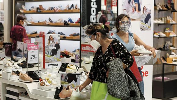 Campaña. Comercios de prendas de vestir y de electrodomésticos serían los más dinámicos en ventas.  (Foto: Andrés Paredes | GEC)
