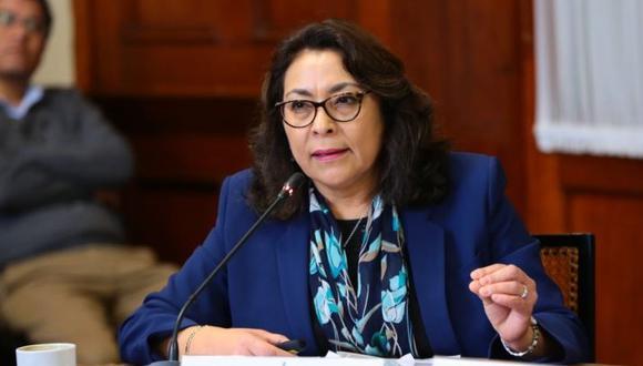 La abogada constitucionalista Violeta Bermúdez es la presidenta del Consejo de Ministros. (Foto: Congreso)
