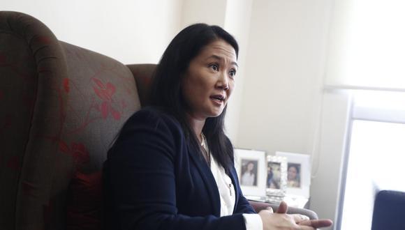 La candidata presidencial Keiko Fujimori. (Foto: GEC).