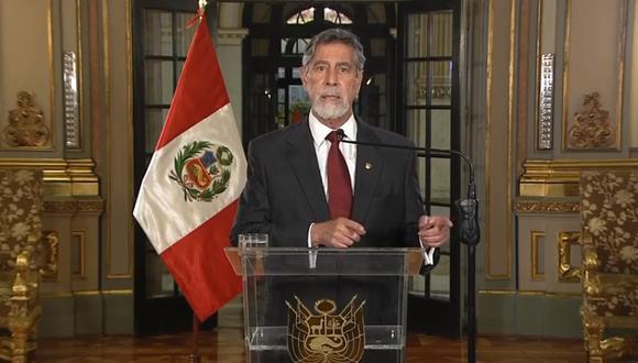 Gobierno no observará derogación de Ley de Promoción Agraria. (Foto: Captura TV Perú)