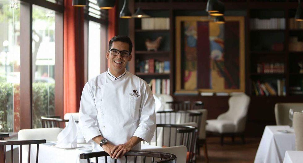 Chef Mariano López en las instalaciones del hotel Double Tree by Hilton. El artista culinario se hizo cargo de los almuerzos para los asistentes a CADE. (Foto: Double Tree by Hilton)