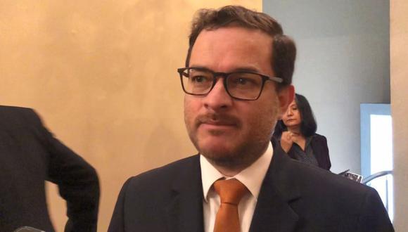 Edgar Vásquez, viceministro de Comercio Exterior.