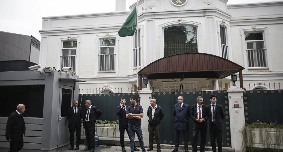 Consulado de Arabia Saudí en Estambul, donde presuntamente fue torturado y asesinado el periodista opositor Jamal Khashoggi. (Foto: Bloomberg