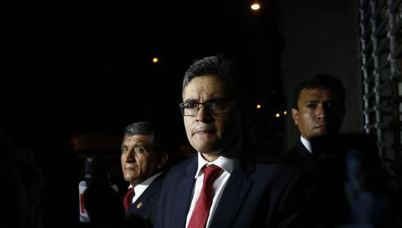 José Domingo Pérez cuestionó citación a audiencias presenciales. (GEC)